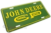 John Deere General Purpose Aluminum License Plate