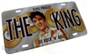 Elvis Presley The King Aluminum License Plate