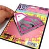Supergirl Pink Chrome Vinyl Sticker Decal