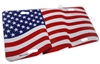 American Flag Aluminum License Plate Tag