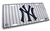 New York Yankees Aluminum License Plate Tag