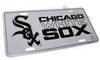 Chicago White Sox Aluminum License Plate Tag
