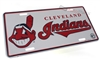 Cleveland Indians MLB Aluminum License Plate Tag