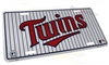 Minnesota Twins MLB Aluminum License Plate Tag