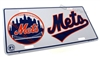 New York Mets MLB Aluminum License Plate Tag