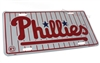 Philadelphia Phillies MLB Aluminum License Plate Tag