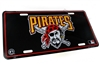 Pittsburgh Pirates MLB Aluminum License Plate Tag