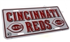 Cincinnati Reds MLB Aluminum License Plate Tag