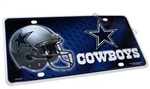 Dallas Cowboys NFL Aluminum License Plate Tag