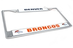 Denver Broncos NFL License Plate Frame