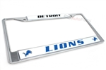 Detroit Lions NFL License Plate Frame