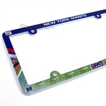 New York Giants NFL License Plate Frame