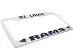 St. Louis Rams NFL License Plate Frame