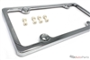 Chrome Plastic ABS License Plate Frame