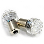 2 x White 1156 LED Bulbs