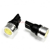 2 x Super Bright White T10 194 LED Bulbs