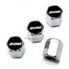 Chevrolet Camaro Z28 Logo Chrome ABS Tire Valve Stem Caps