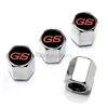 Buick GS Logo Chrome ABS Tire Valve Stem Caps