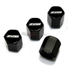 Chevrolet Camaro Z28 Logo Black ABS Tire Valve Stem Caps