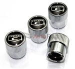 Chrysler 300 Hemi C Logo Chrome ABS Tire Stem Valve Caps