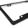 Black Elegant Metal License Plate Frame