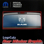 Big Dodge Ram Logo Vinyl Sticker Decal