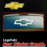 Big Chevy Bowtie Logo Vinyl Sticker Decal