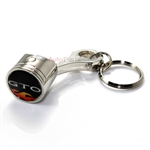 Pontiac GTO Logo Piston Shape Key Chain