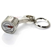 Chevy Corvette C4 Logo Piston Shape Key Chain