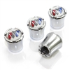 Buick Logo Chrome Tire Valve Stem Caps