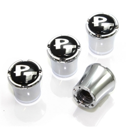 Chrysler PT Cruiser Logo Chrome Tire Valve Stem Caps