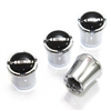Hemi Logo Chrome Tire Valve Stem Caps