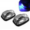 Universal Blue LED Windshield Washer Eyes