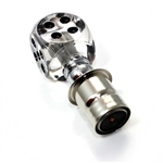 Clear Dice Cigarette Lighter Plug