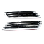 Premium Chrome Fenders Mesh Stick-On Vents