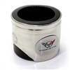 Chevy Corvette C5 Logo Piston Shaped Can Cooler