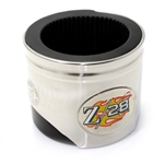 Chevy Camaro Z/28 Logo Piston Shaped Can Cooler