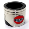 Pontiac GTO Logo Piston Shaped Can Cooler