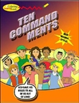 Ten Commandments, The: Coloring and Activity Book