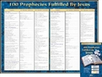 Poster - 100 Prophecies Fulfilled By Jesus