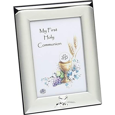First Communion Picture Frame - Satin Finish