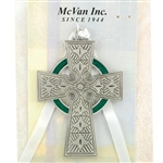Crib Cross Celtic Enamel