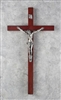 "Crucifix - 15"" Rosewood with Italian Corpus"
