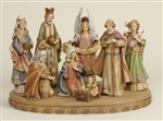 "Nativity Set - 17"" Wood-Look"