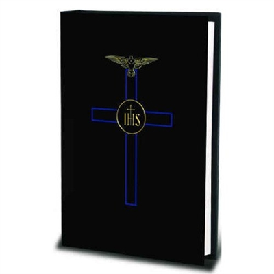 Blessed Trinity Missal, Black Hardcover with Gold Foil Stamping