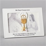 3.5x5 Double Frame with Chalice - First Communion