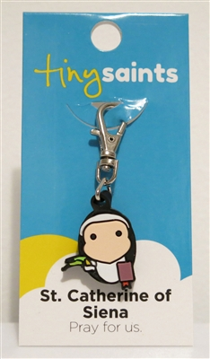 St. Catherine of Siena Tiny Saints Charm