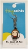 St. Joan of Arc Tiny Saints Charm