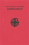 Liturgy of the Hours, The (Supplement)