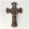 Crucifix St. Benedict Two-Tone 10.25-inch